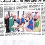 Zeitungsartikel WestfalenBlatt 20.8.2014